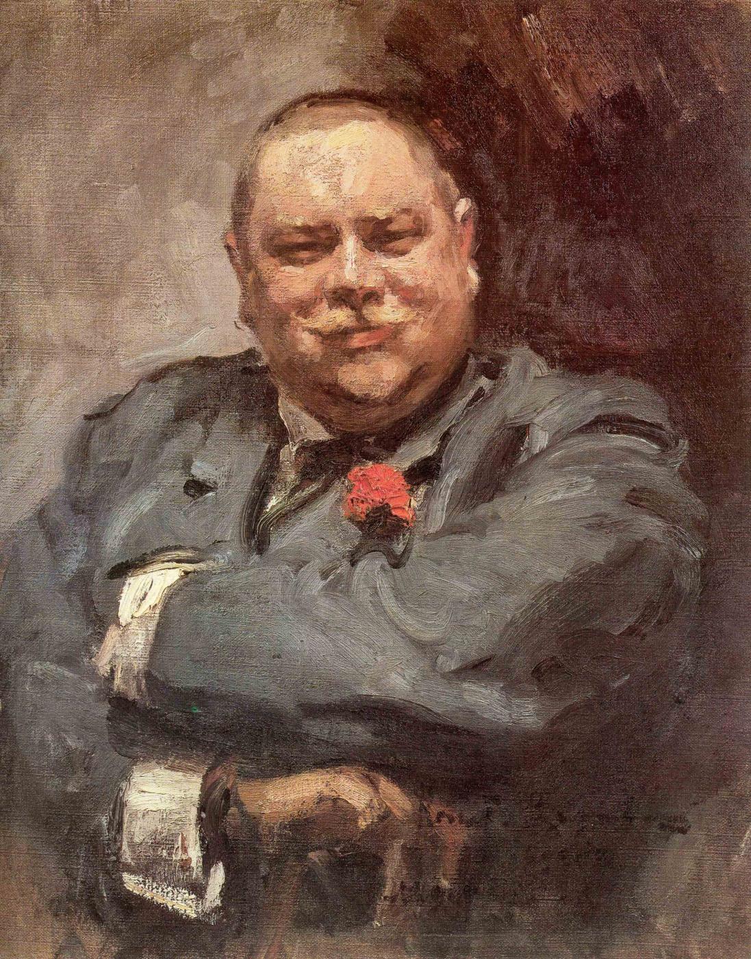 Konstantin Korovin. Portrait Of Nikolai Dmitrievich Chichagov
