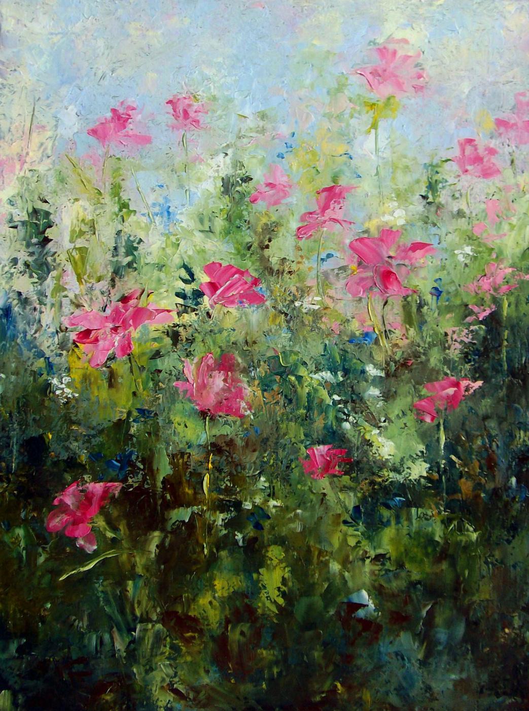 Elena Yudina. Meadow blooms