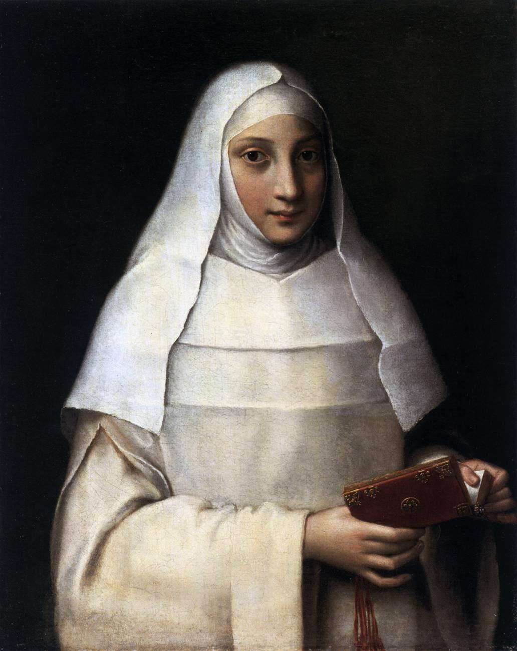 Sofonisba Angisola. Portrait of a Nun (Artist's Sister)