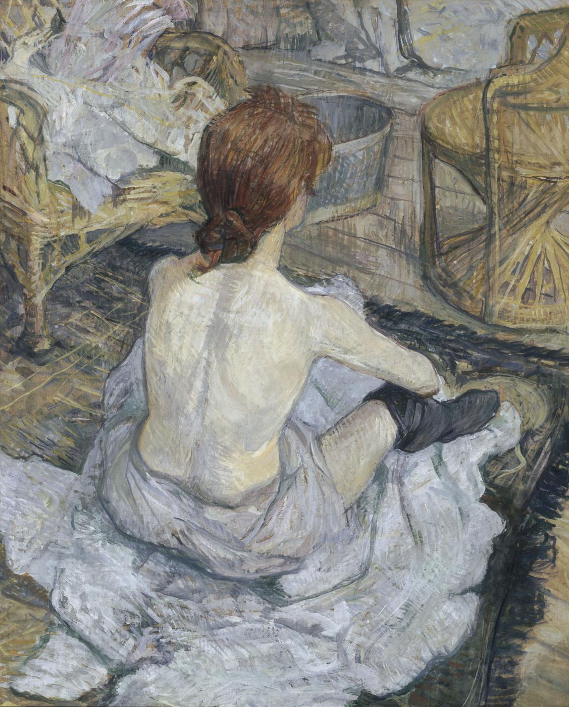 Henri de Toulouse-Lautrec. Bathroom