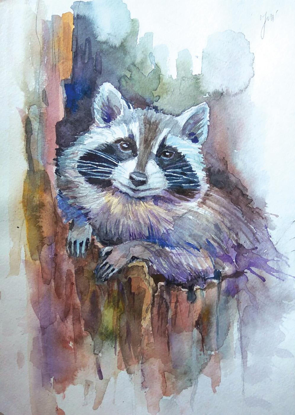 """Sevanti. """"Raccoon"""""""