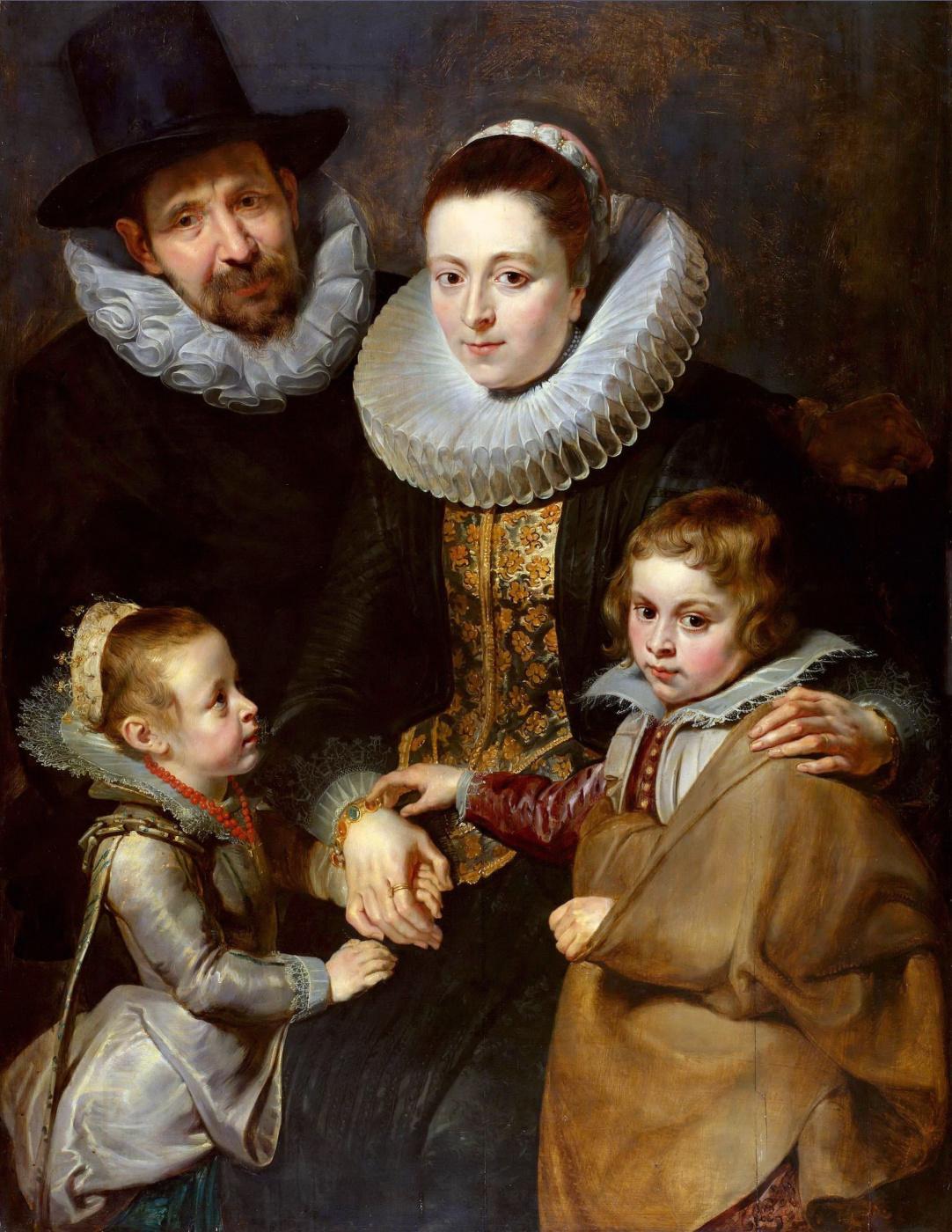 Peter Paul Rubens. The Family Of Jan Brueghel The Elder