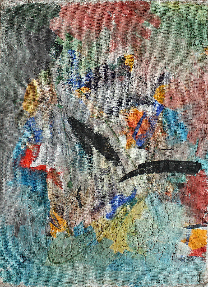 Vyacheslav Pavlovich the Commissars. Abstract composition