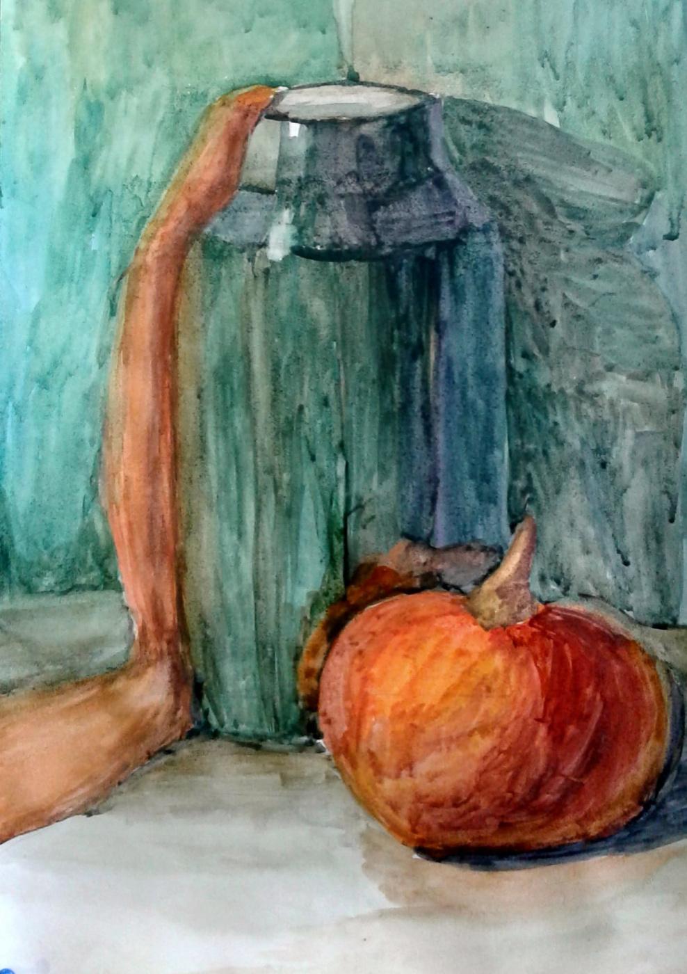 Julia Sergeevna Bochkareva. Pumpkin can