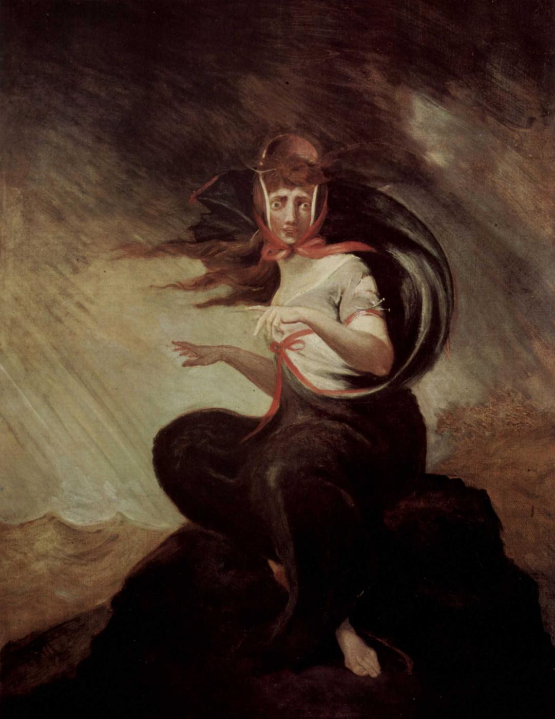 Johann Heinrich Fuessli. Crazy Kate
