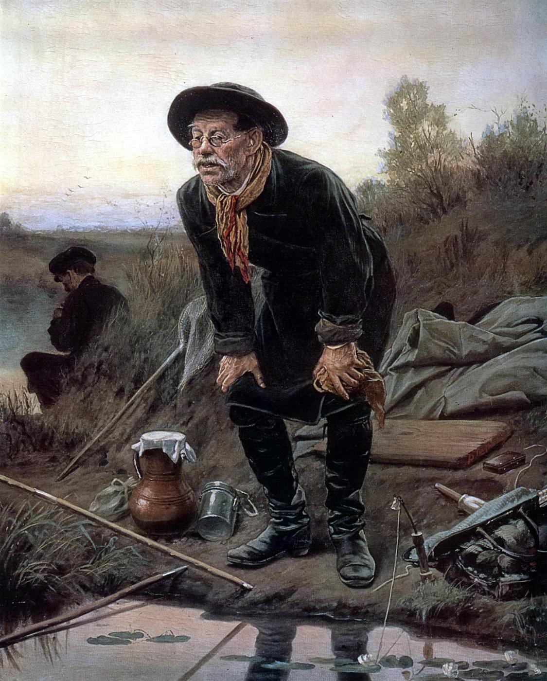 Vasily Grigorievich Perov. Angler