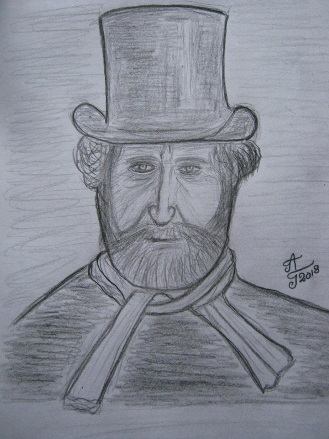 """Alexey Grishankov (Alegri). """"Maestro in top hat"""""""
