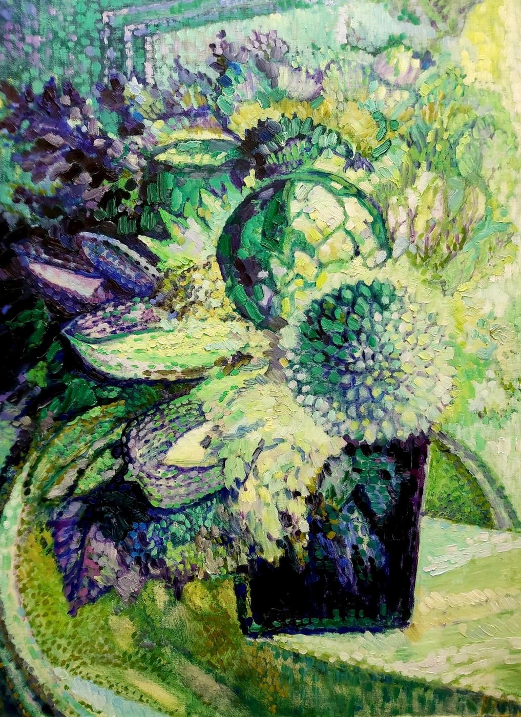 Alexander Mukha / Mukhomedeev-Boyarov. Bouquet Faberge Emerald