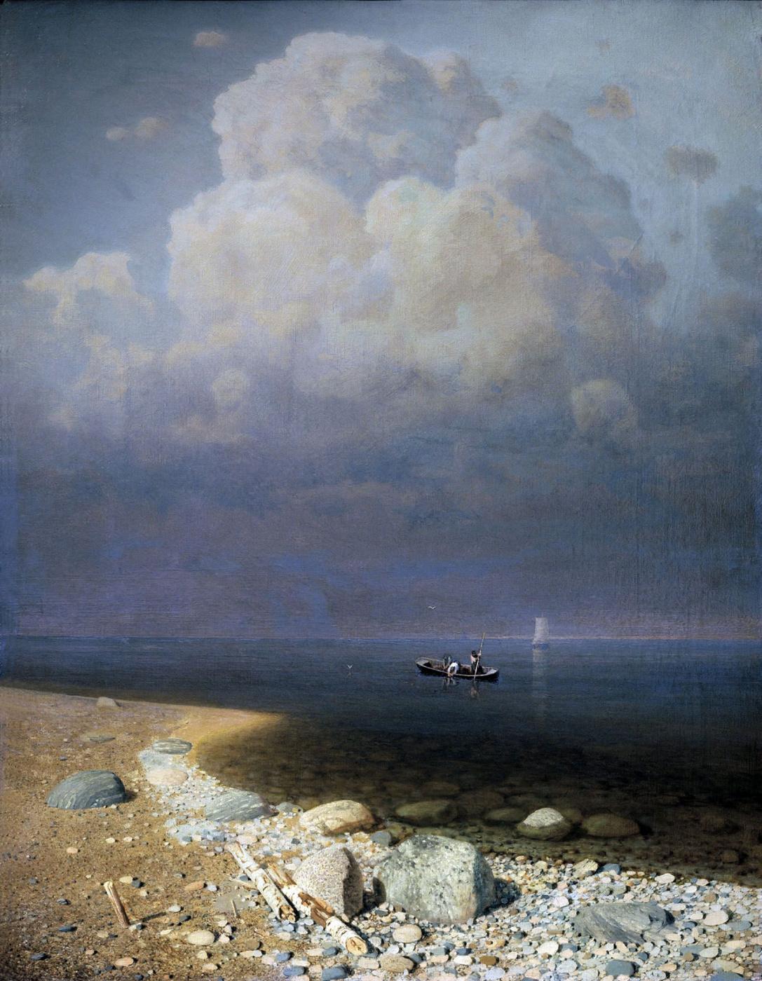 Arkhip Ivanovich Kuindzhi. Lake Ladoga