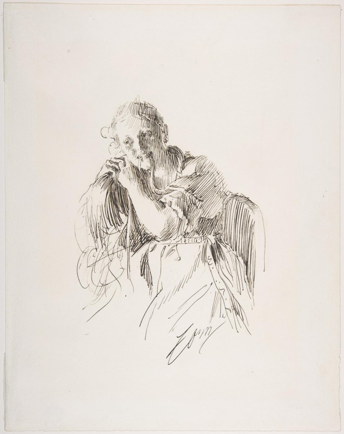 Anders Zorn. Margaret