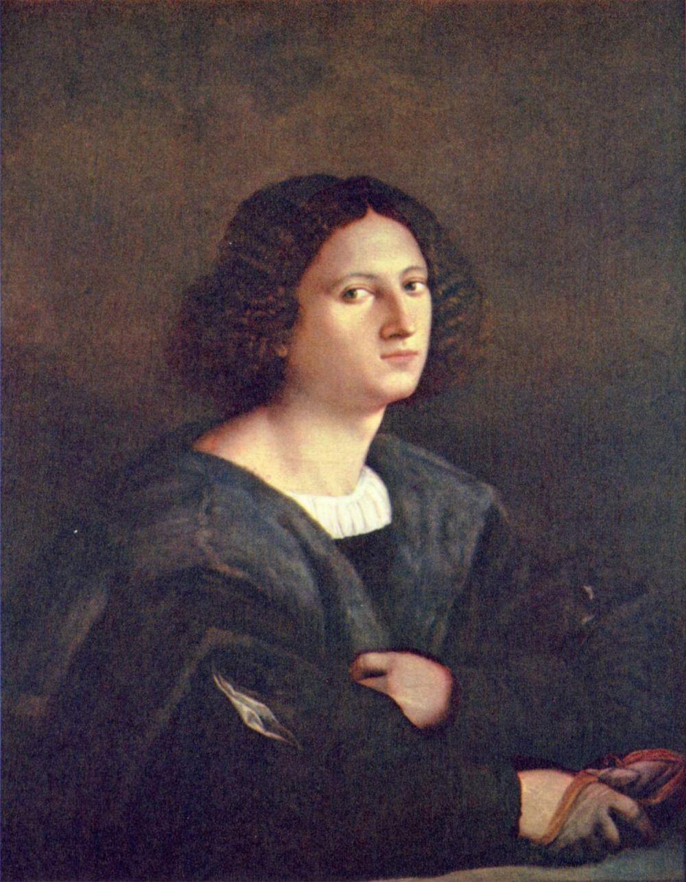 Giacomo Palma the Elder. Portrait of a man