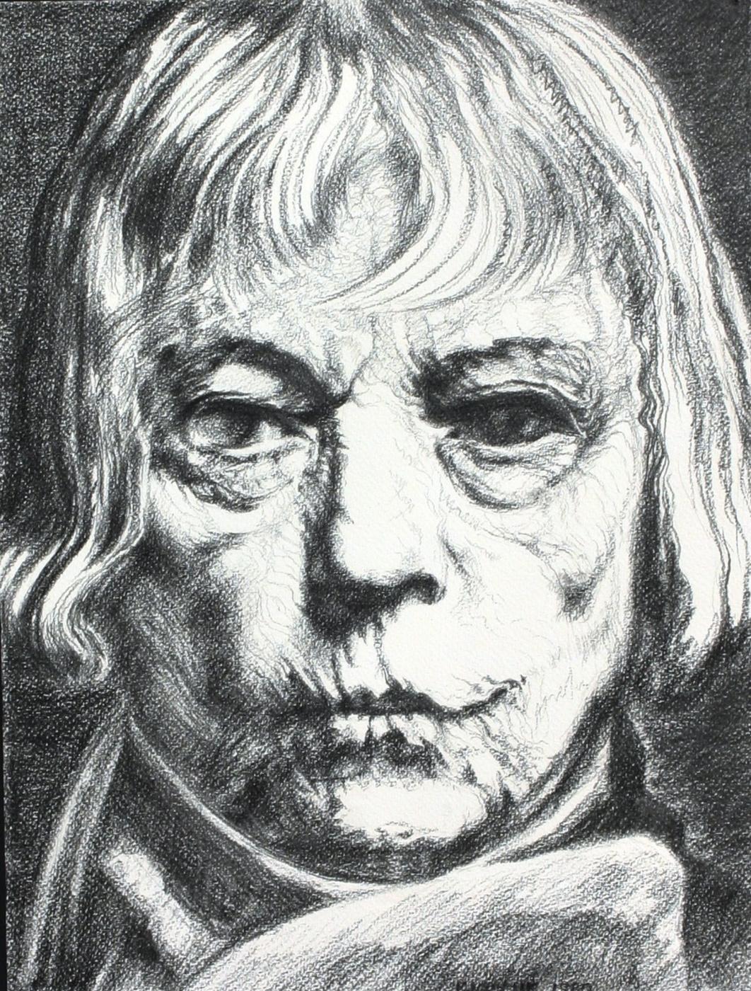 Alexander Ocher Kandinsky-DAE. Asta. Old woman with a thorn