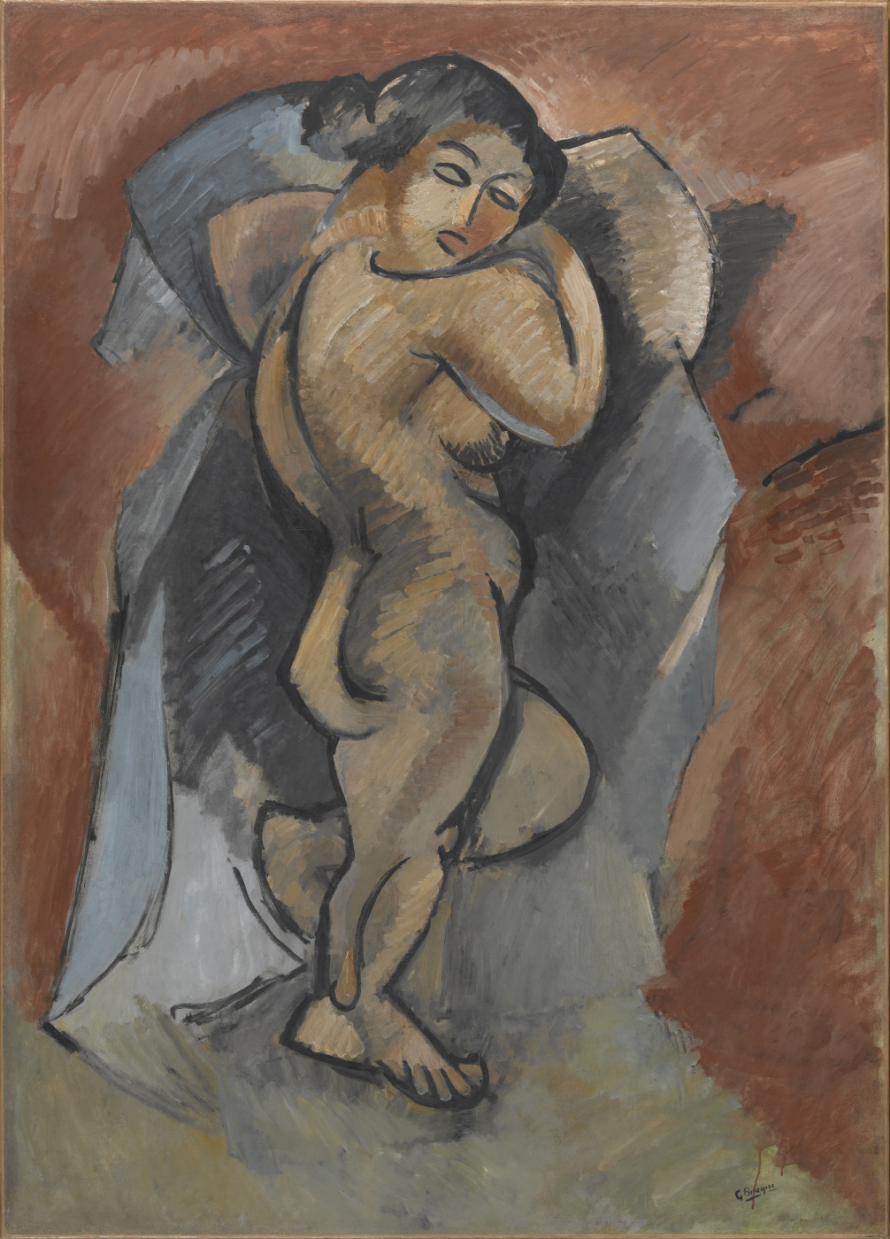 Georges Braque. Nude