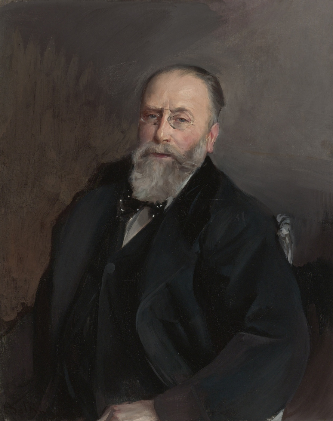 Giovanni Boldini. Portrait of Baron Rothschild