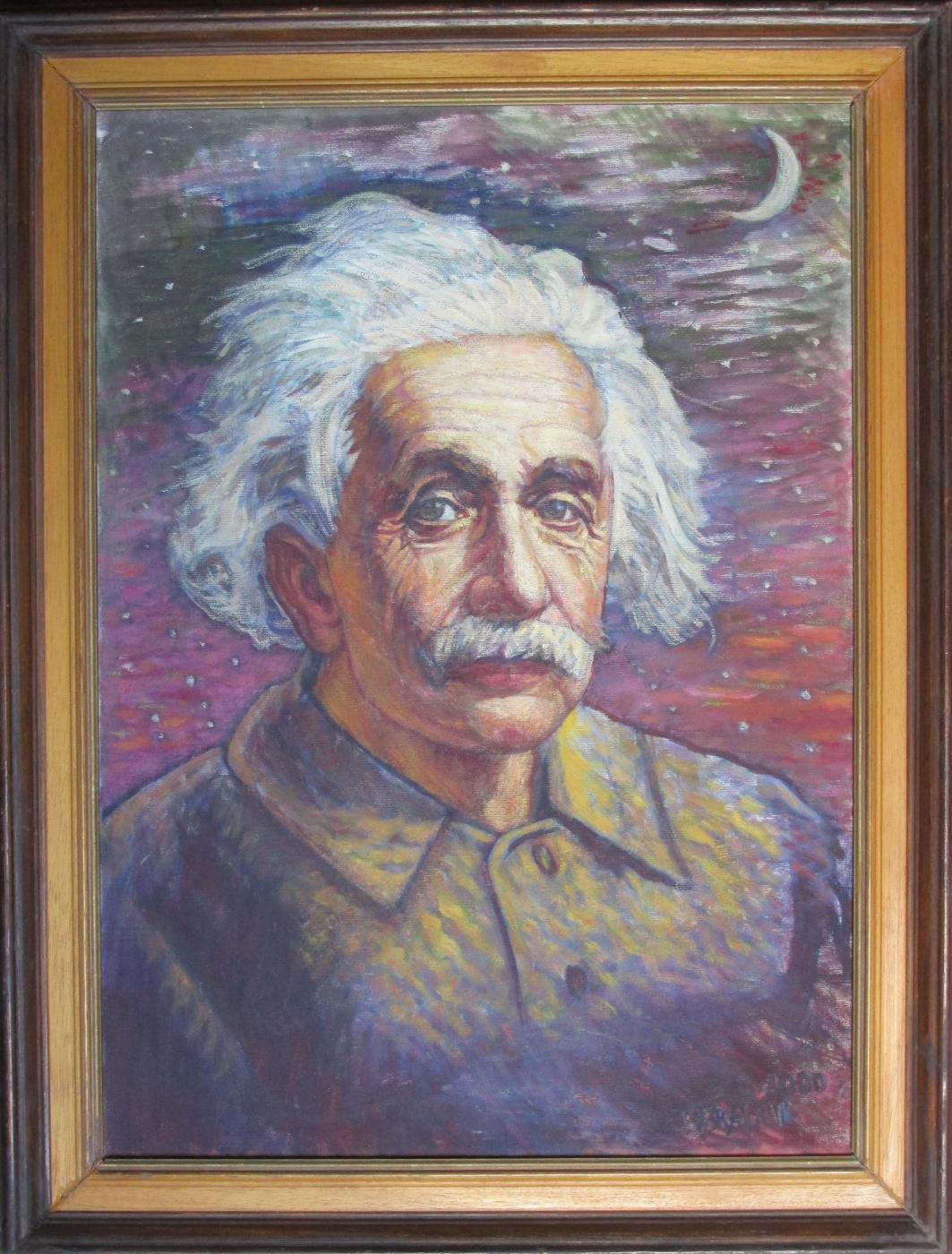 Boris Braynin. Albert Einstein
