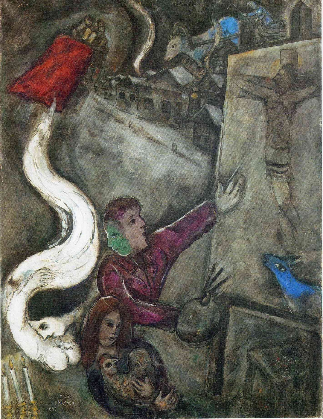 Marc Chagall. The soul of the city