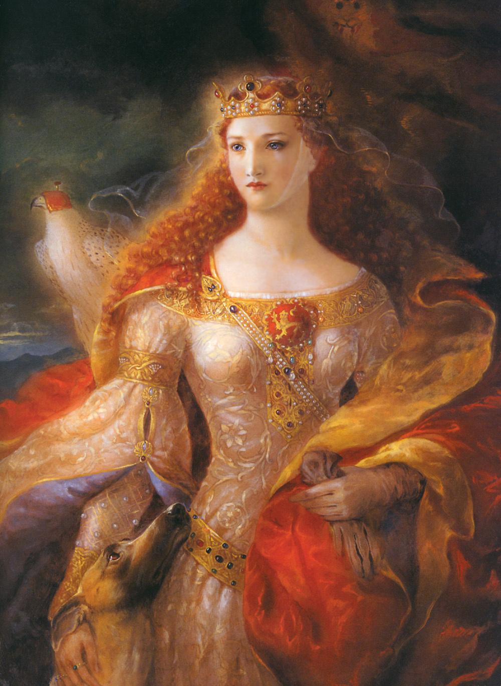 Kinuko Kraft. Eleanor Of Aquitaine