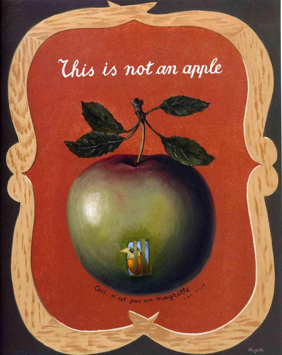 René Magritte. Force of habit