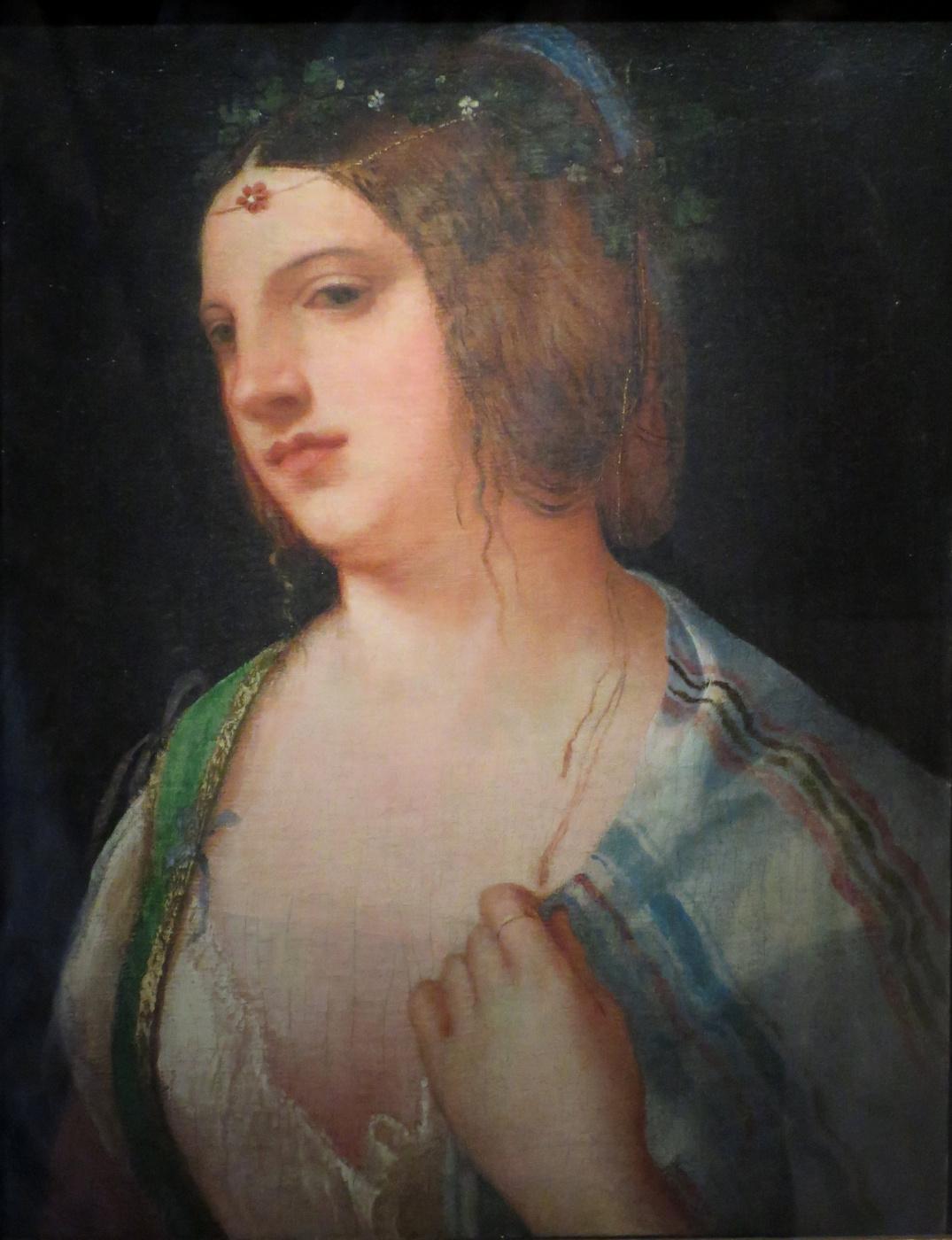 Giorgione. Portrait of a young Venetian