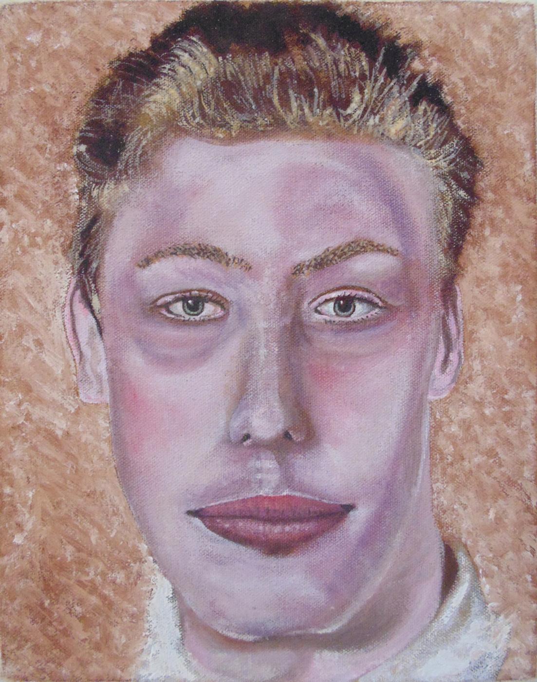 Chris Waddington. Portrait of a Schoolboy.