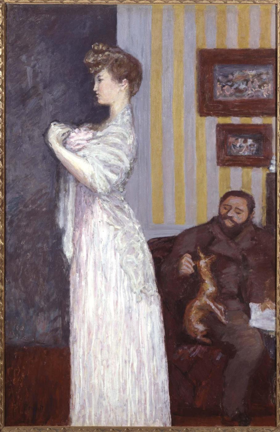 Pierre Bonnard. Misia and blind Natanson