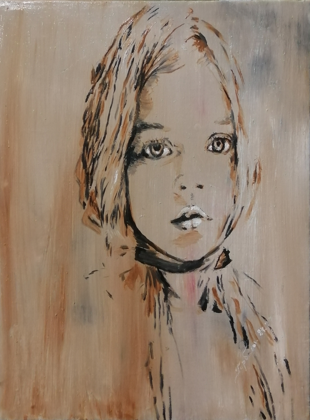 Michael. S Garbaly. A child in ash.