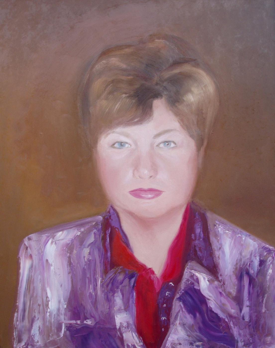 Elena Valyavina. Female portrait