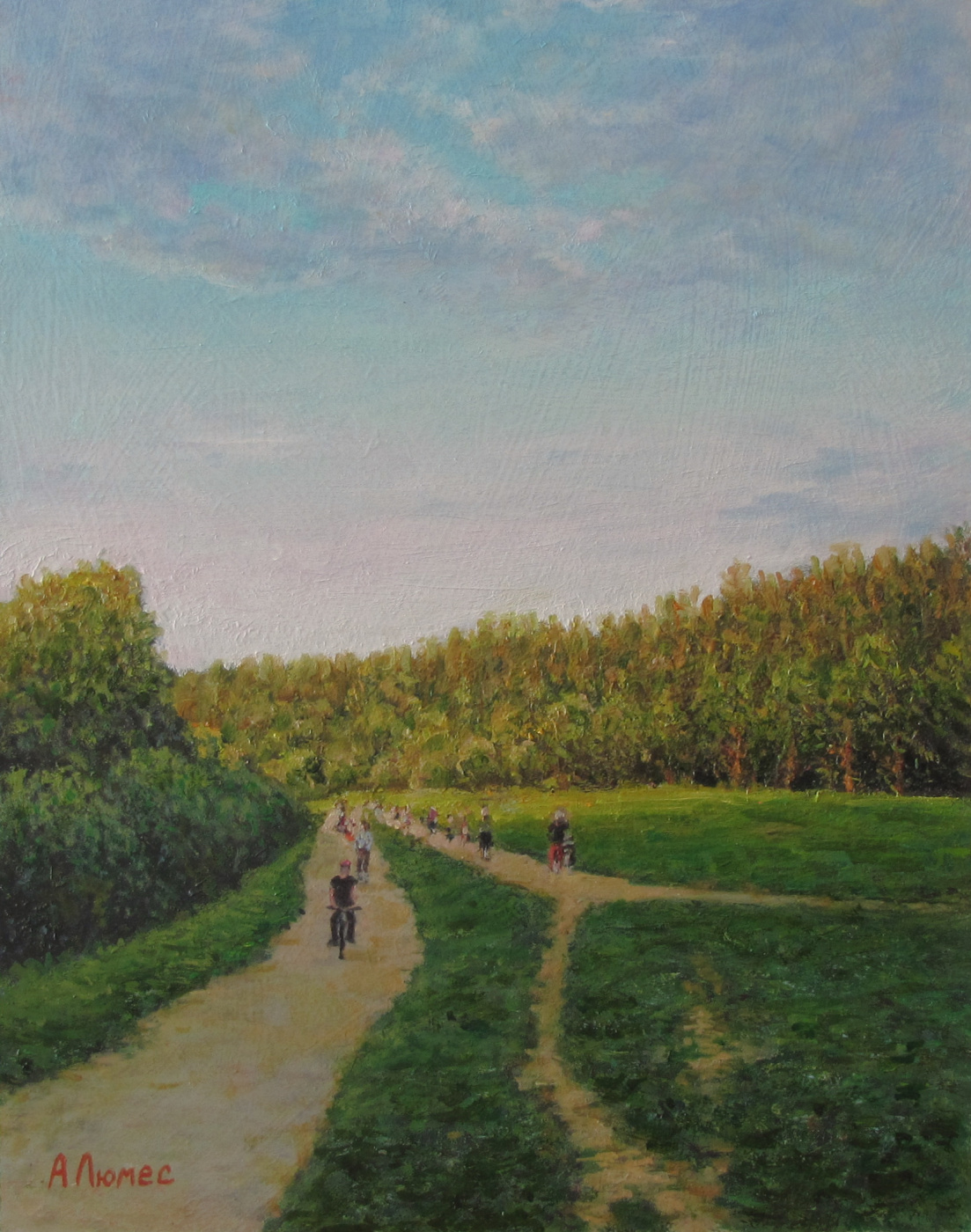 Andrew Lumez. Izmailovsky park