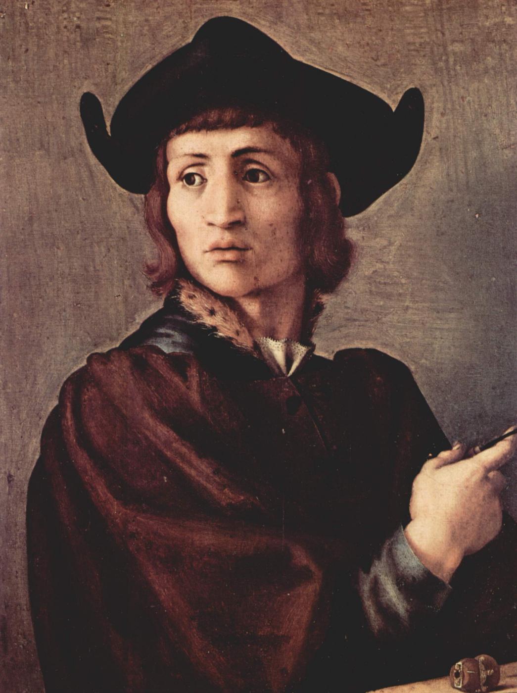 Jacopo Pontormo. Portrait of a jeweler