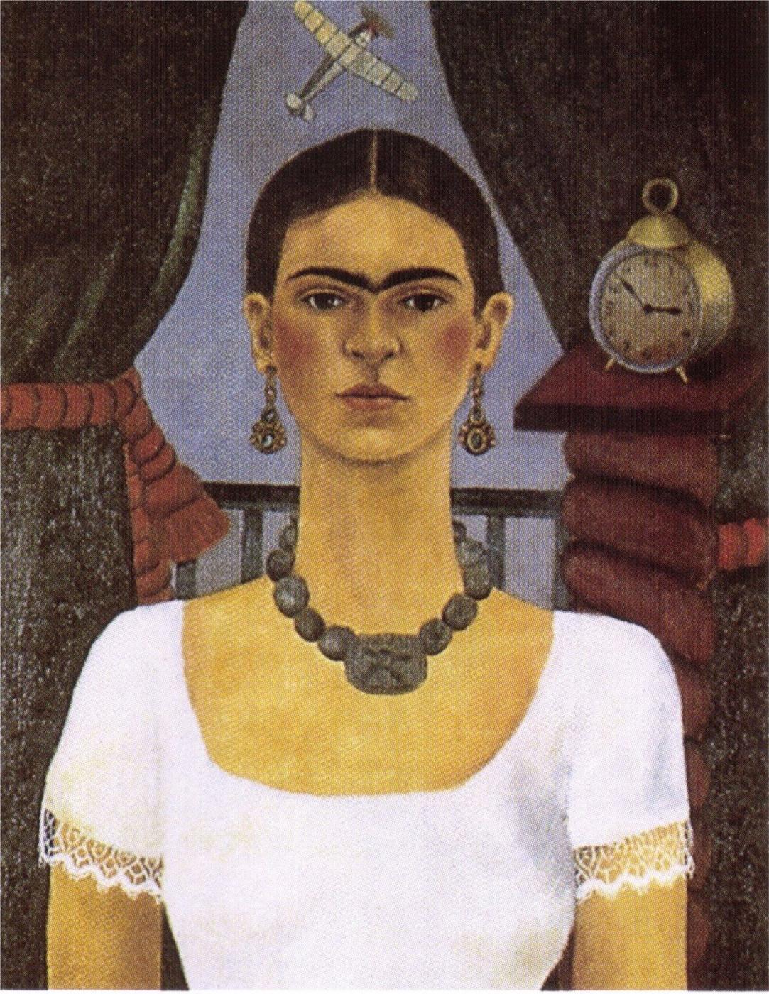 Frida Kahlo. Self-portrait