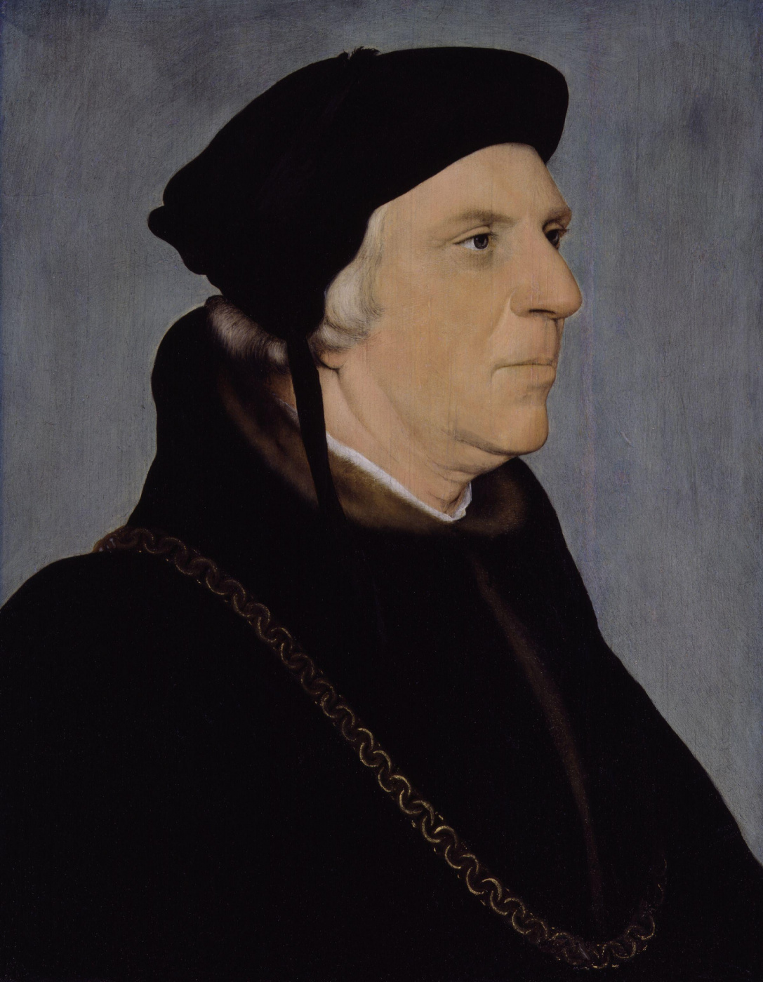 Hans Holbein the Younger. Portrait of Sir William Butts