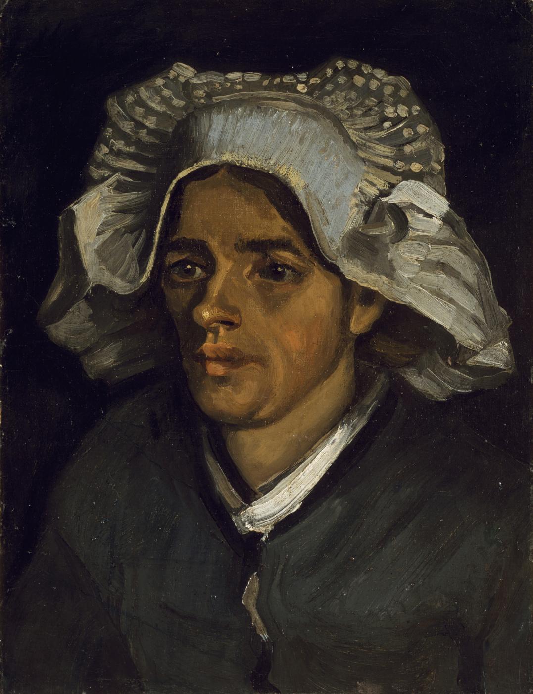 Vincent van Gogh. The Head of a Peasant Woman