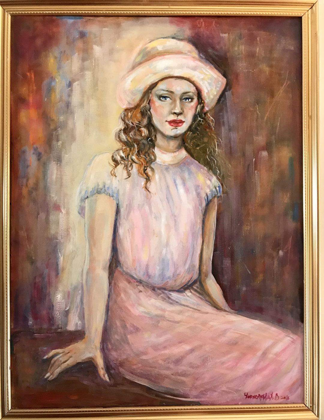 "Valeria. ""Girl in pink"""