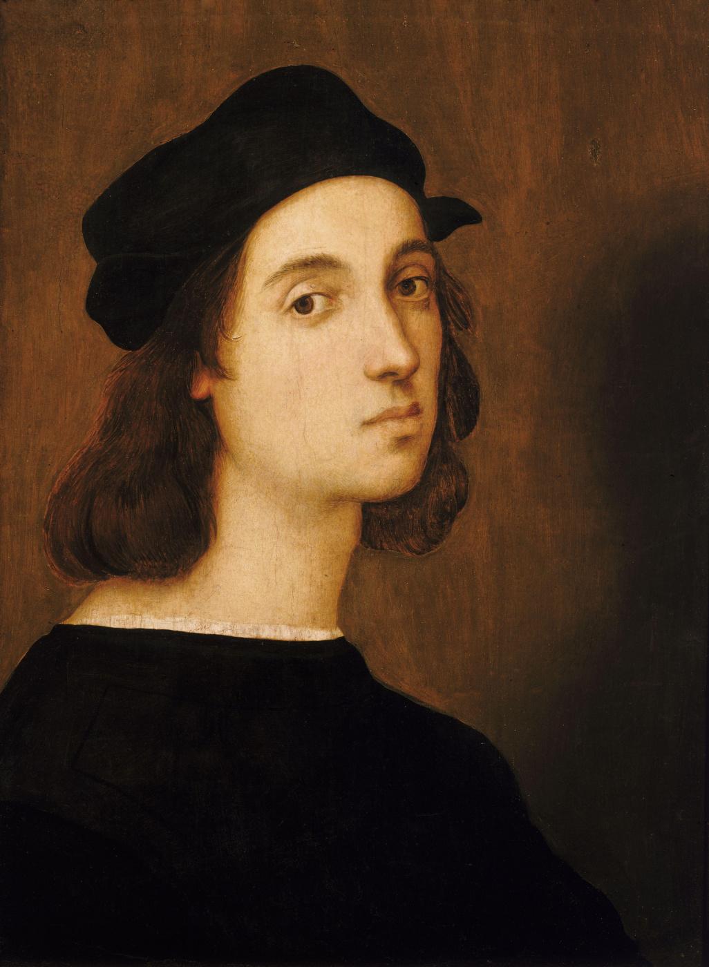 Raphael Sanzio. Self-portrait