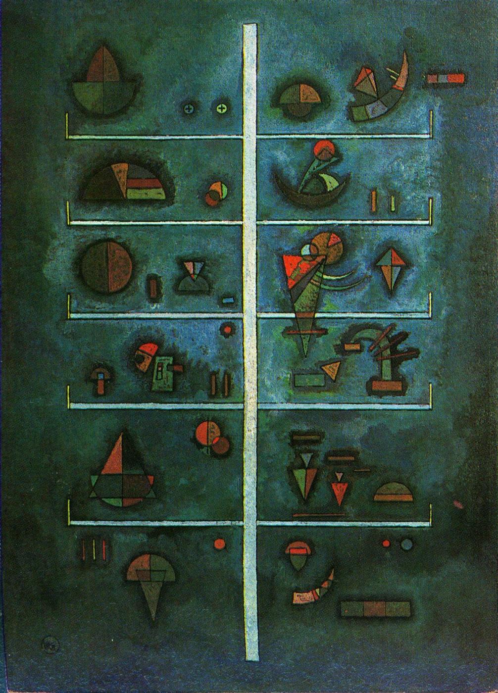 Wassily Kandinsky. Floors