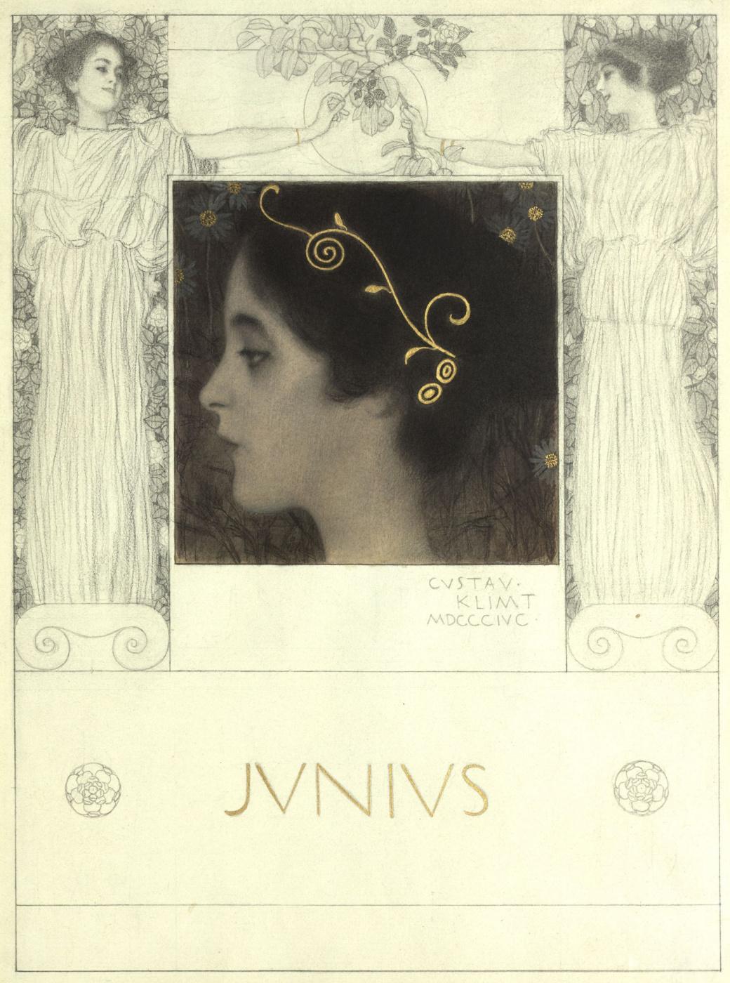 "Gustav Klimt. Junius (Series ""Allegories"")"