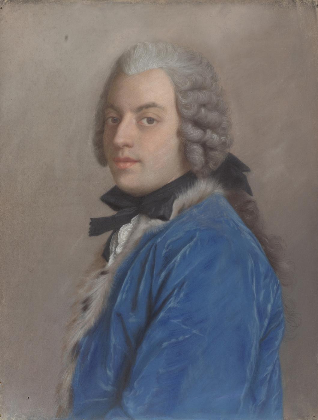 Jean-Etienne Liotard. A portrait of the writer and philosopher Francesco Algarotti