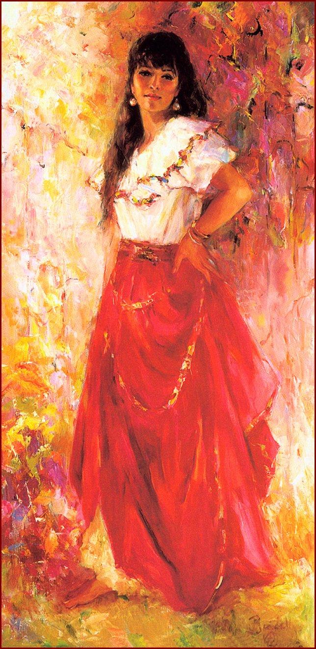 Marilyn Bendell. Mexican dancer