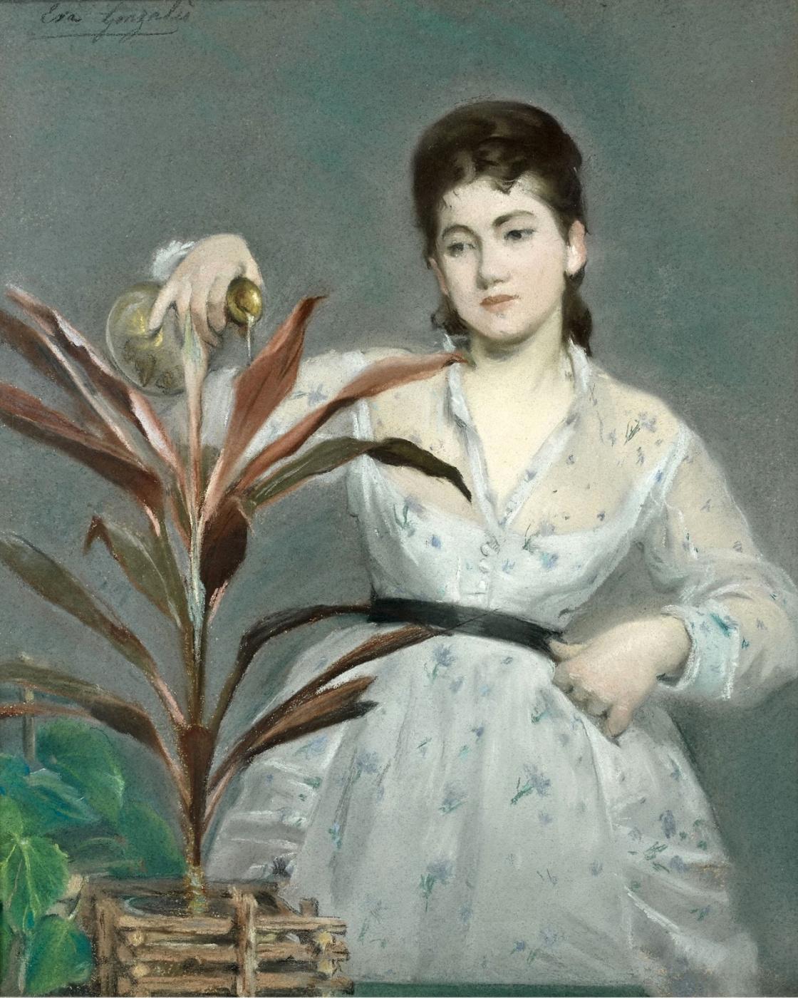 Eva Gonzalez. Favorite plant