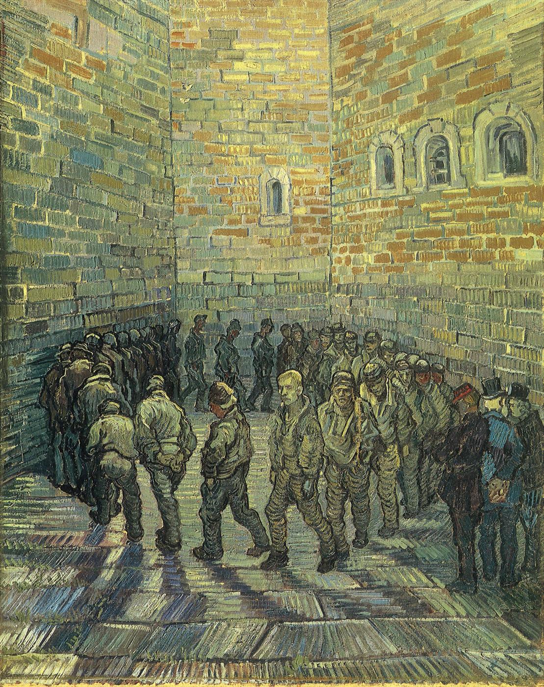 Vincent van Gogh. Prisoners Exercising (After Doré)