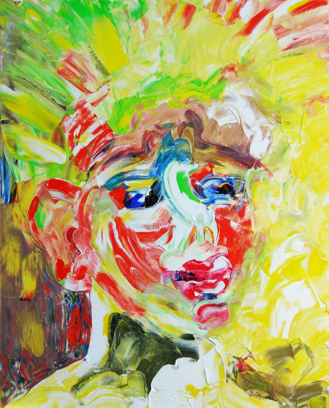 Alexander Ocher Kandinsky-DAE. Sunny boy. (Sasha son of the artist)