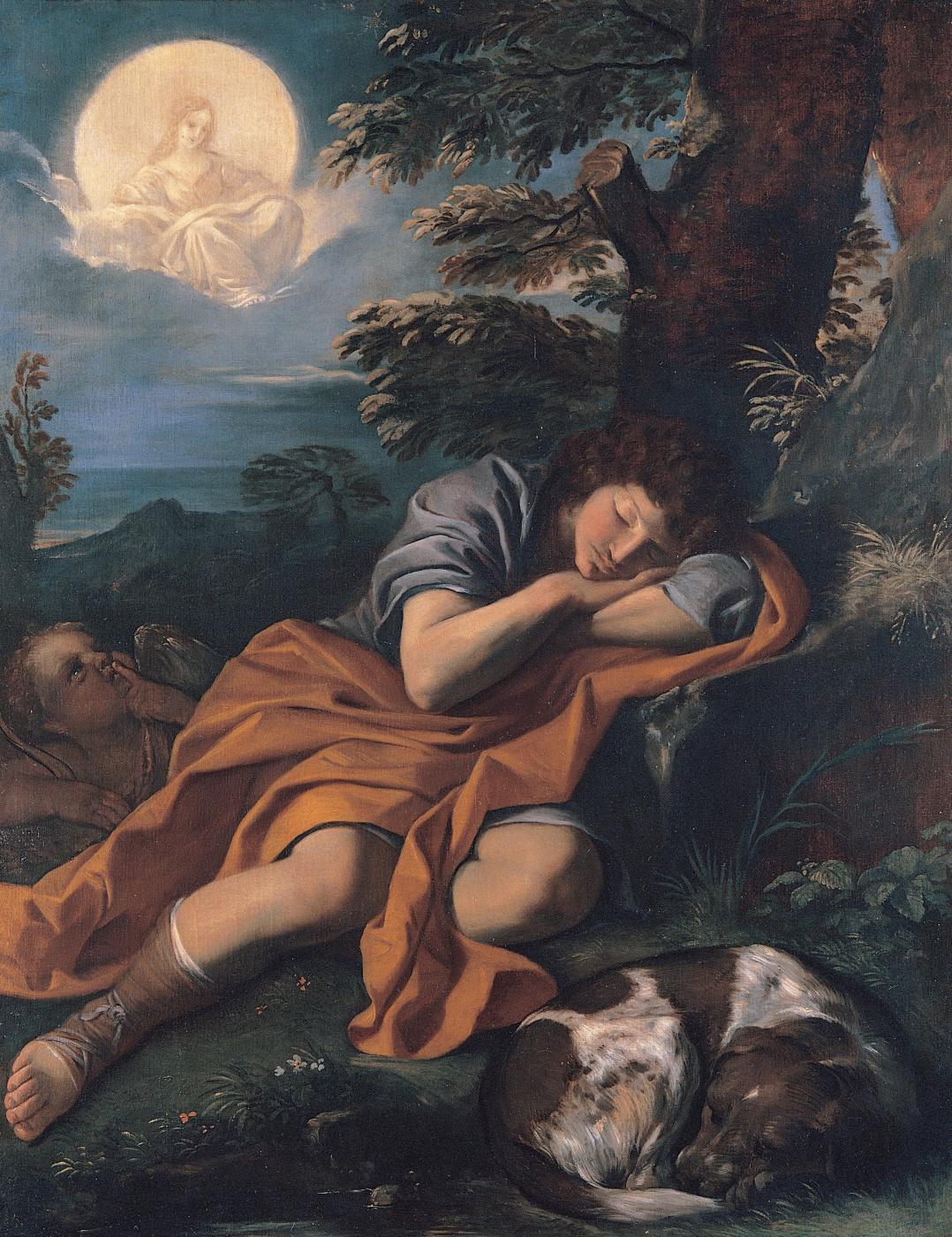 Pierre Francesco Mola. Diana and Endymion