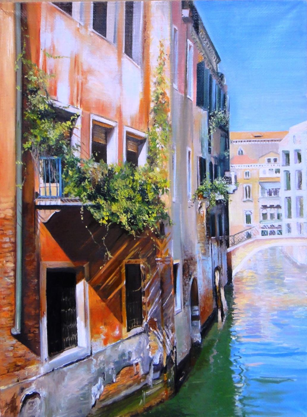 Love Makovsky. Venice 2 (triptych)