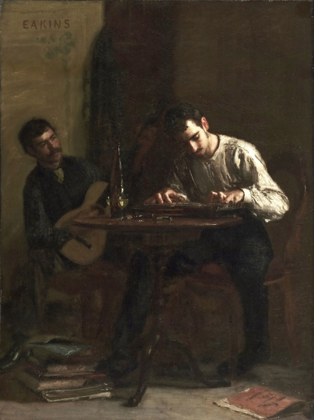 Thomas Eakins. Professionals at rehearsal