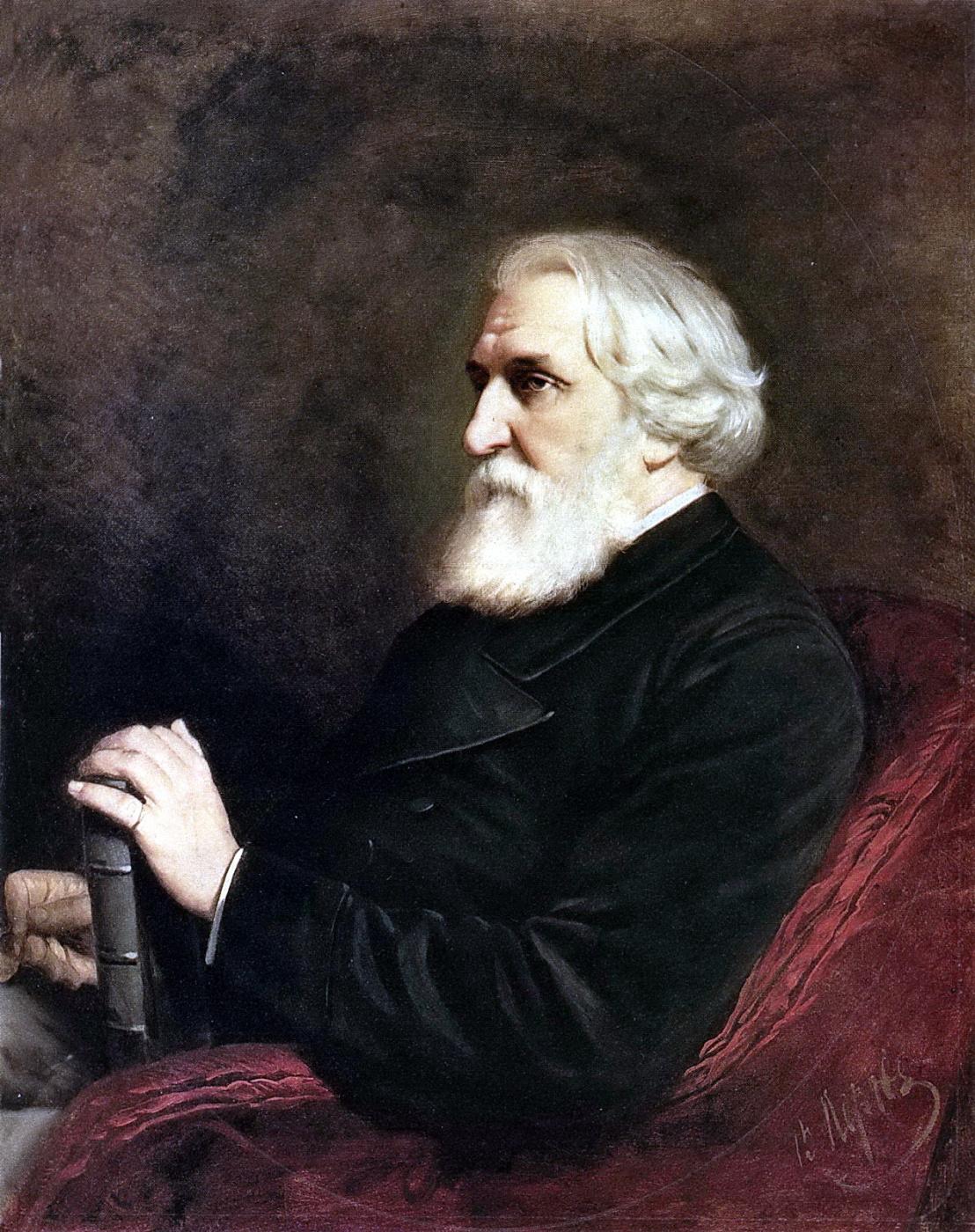 Vasily Grigorievich Perov. A portrait of the writer Ivan Sergeevich Turgenev