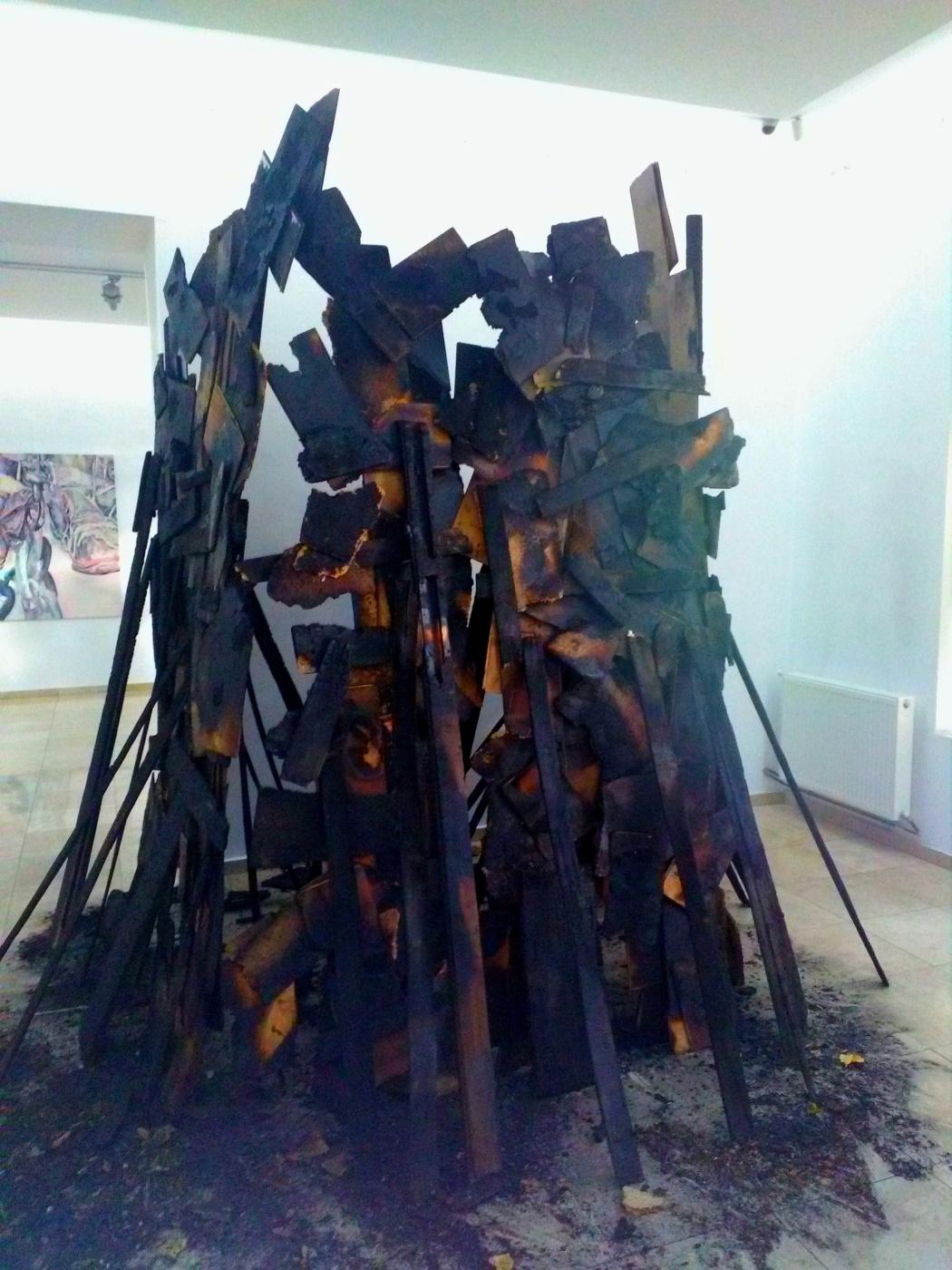 Marius Burhan. Fire