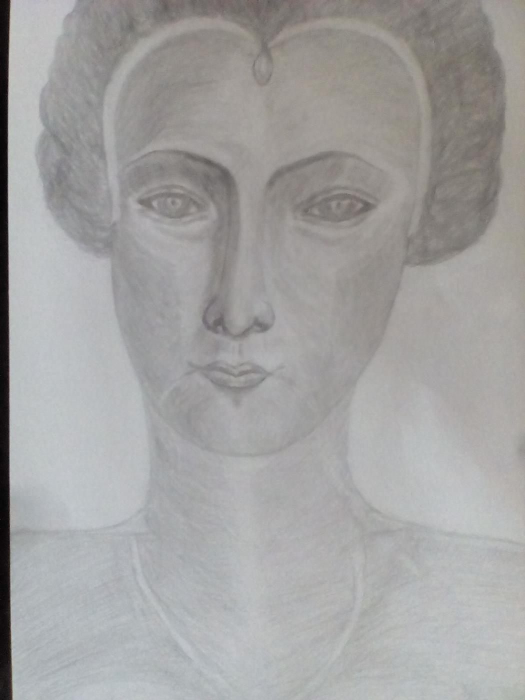Oljga Vasiljevna. Noble lady from the 16th century