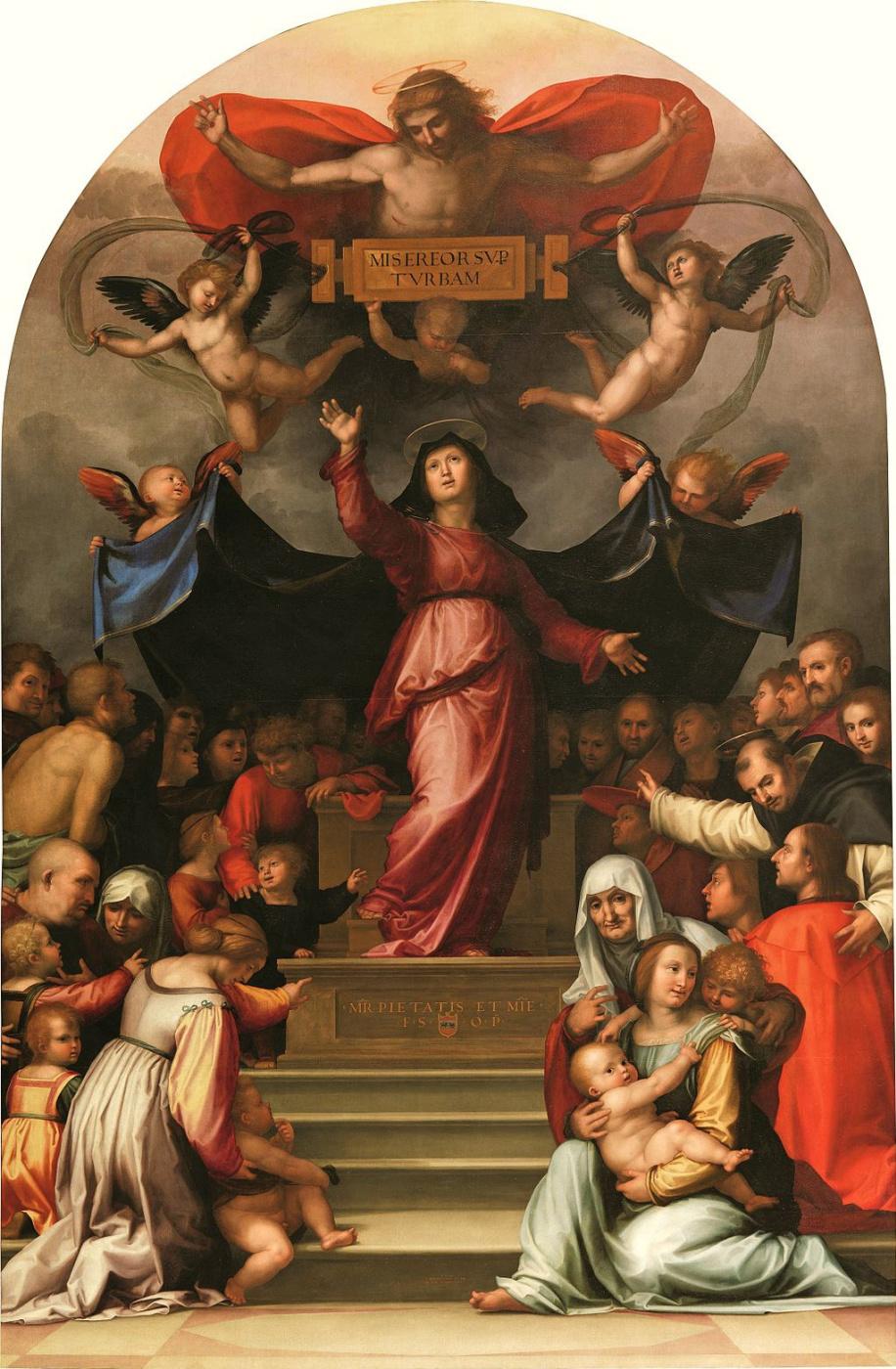 Фра Бартоломео. Богоматерь Всемилостивая (Madonna della Misericordia)