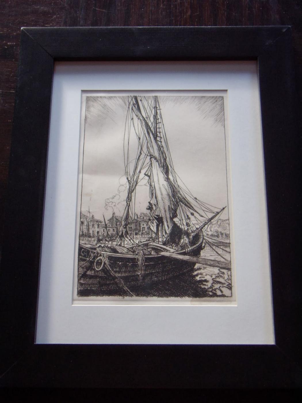 Unknown artist. Old Harbor.