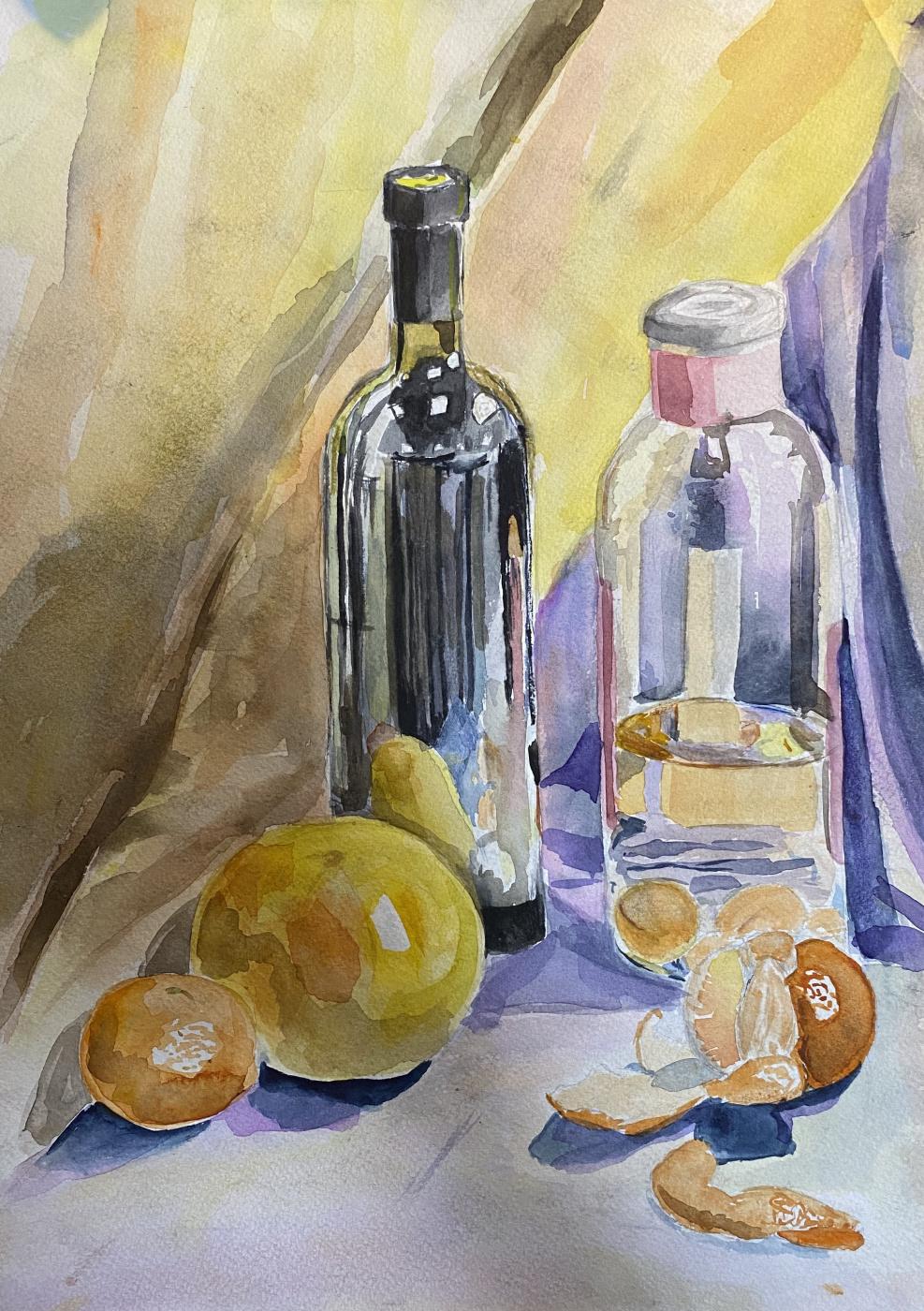 Unknown artist. Glass